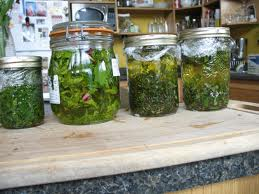 Spell to Attract Good Luck Herbal Jar