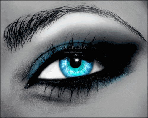 how to change your eye color to purple