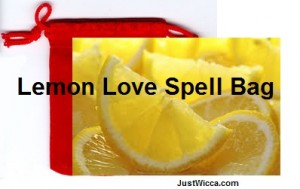 lemon love spell bag